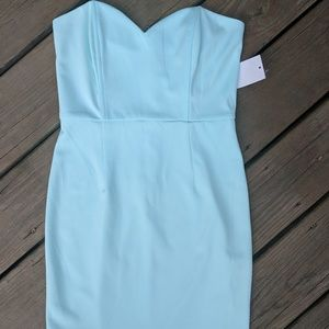 Tobi NWT Mint Mini Dress with Scalloped Skirt - M